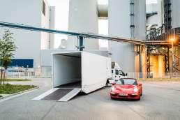 Minisattel Fahrzeugtransporter